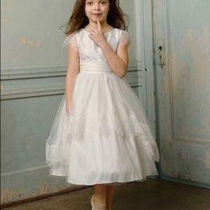 Ivory Flower Girl Dress or First Communion